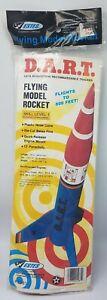 Estes model rocket D.A.R.T. kit #1981 vintage EXCELLENT condition OOP UNOPENED