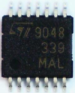 25-x-STMicroelectronics-LM339PT-Quad-Comparator-CMOS-TTL-O-P-1-3-s-2-36V-TSSOP14