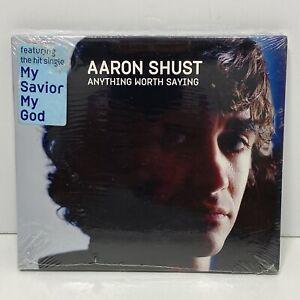 Aaron-Shust-Anything-Worth-Saying-CD-Christian-Contemporary-My-Savior-God-Sealed