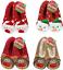 ladies christmas slippers fleece lined novelty grip sole ladies slippers