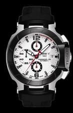 NEW MEN'S TISSOT T RACE AUTOMATIC CHRONOGRAPH SAPPHIRE WATCH T048.427.27.037.00