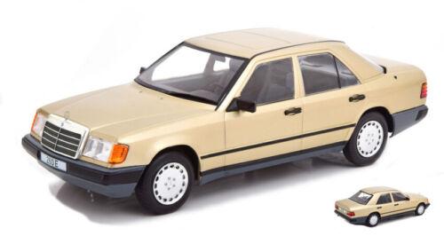 MERCEDES 260 E W124 METALLIC LIGHT BROWN 1:18 AUTO STRADALI MODELCARGROUP SCALA