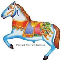 37 Merry Go Round Circus Party Carousel Horse Multi Color Free Shipping