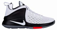 Nike Zoom Witness Basketball Shoes Mens 12 White Black Cool Grey Lebron