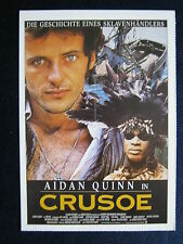 Filmplakatkarte cinema   Crusoe   Aidan Quinn