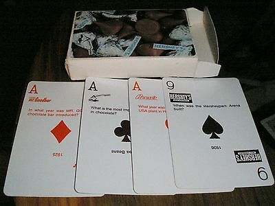 Hershey's Chocolate Kisses Reeses Mr.Goodbar Trivia Deck Liberty Playing Cards