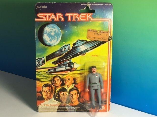 1979 MEGO STAR TREK ACTION FIGURE MOC ORIGINAL SERIES SCOTTY SCOTT POSEABLE RARE