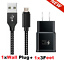miniature 22 - 3/6/10FT Braided USB C Type-C Fast Charging Data SYNC Charger Cable Cord