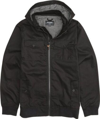 Nixon Captain Cotton II Jacket Black S1628000-02 S