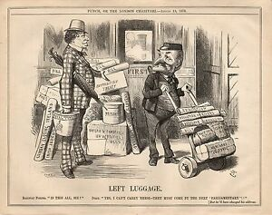 Vintage-Punch-Political-Cartoon-August-1876-Parliamentary-Business