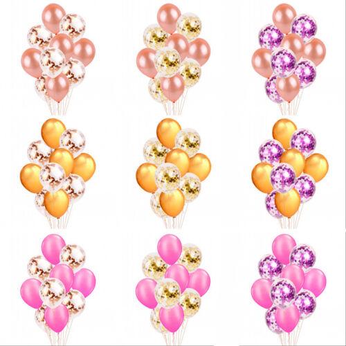 set Latex Hochzeit Baby Shower Geburtstag Decor Konfetti Balloons 20 10PC