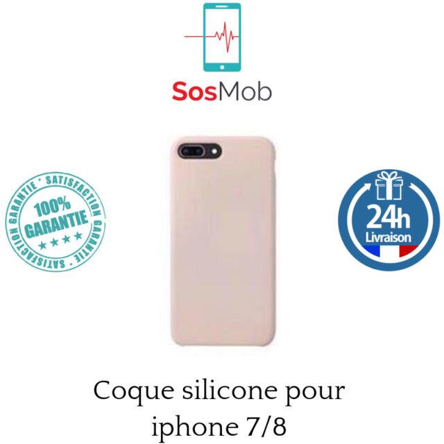 coque en silicone pour Apple iphone 7 / 8 BLANC