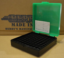 9 mm / 380 - 100 round ammo case / box (ZOMBIE COLOR) Berrys mfg. 9 mm BRAND NEW