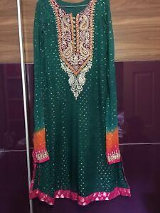 firmato Abito cucito piccolo pakistano da sposa SxqCTwBH