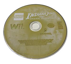 Indiana Jones The Original Adventures Disc Only Nintendo Wii Game