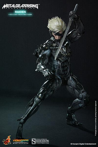 Hot Toys Metal Gear Rising: Revengeance RAIDEN 12