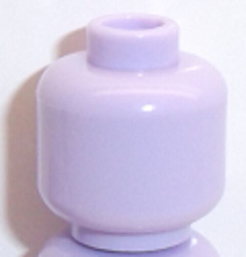 Lego Plain Head x 1 Lavender for Minifigure