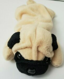 Terrific Details About Ty Beanie Baby Cute Pugsly The Pug Puppy Dog 8 Bean Bag Stuffed Animal Toy Used Machost Co Dining Chair Design Ideas Machostcouk