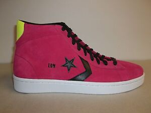 314eac741c9 Details about Converse Size Mens 10 Womens 11.5 Pro Plus Red Leather  Sneakers New Unisex Shoes