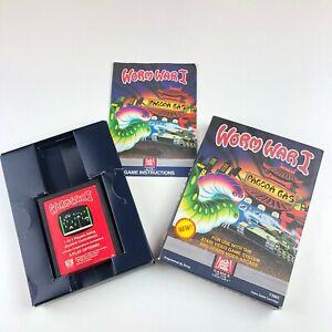 Atari-2600-Game-Worm-War-1-Complete-In-Box-ATARI-2600-Video-Game-System-amp-Manual