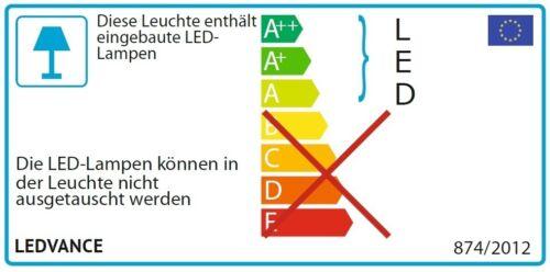 Osram LED Lichtleiste 4W 3000k warmweiß Küchen Unterschrank Unterbau Einbaulicht