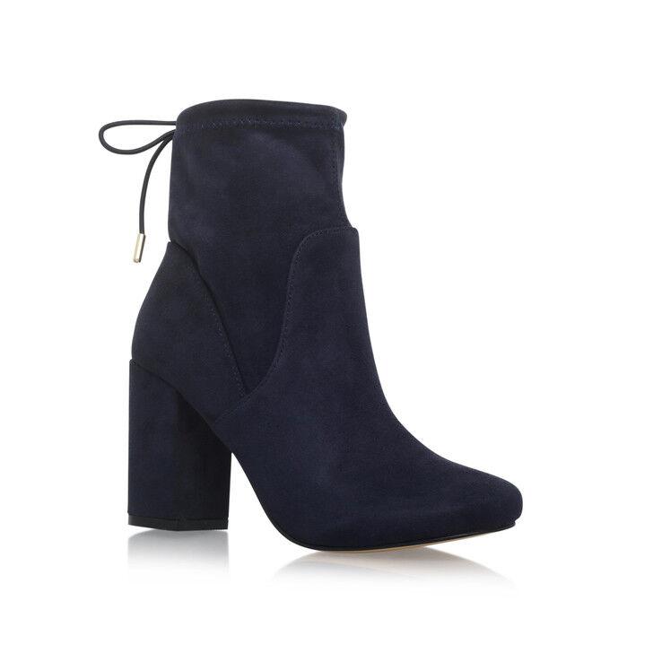 BNIB MISS KG KURT GEIGER  SWAN Stiefel Schuhe NAVY Blau Größe 6/39