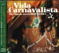 Mio Matsuda meets DEEP SAMBA Vida Calnavalista Japan CD - NEW