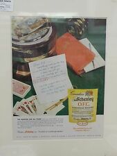 Original 1958 Vintage Advert ready to framed Schenley OCD Canadian Whisky