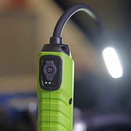 Sealey Flexi Head s//n DEL Rechargeable Inspection Lampe base magnétique