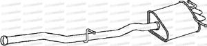 MERCEDES C270 2.7Cdi Om612962 1 SLN 203016 2032 16 00-04 Silencieux d/'échappement arrière assemblée