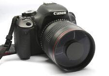 500mm Mirror f/6.3  telephoto lens for Nikon D90 D700 D7100 D7200D3200  D5300 D4