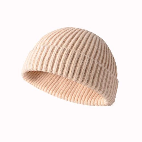 Cap Cuff Women Beanie Winter Slouchy Ski Plain Hats Warm Skull Knit Men Hat