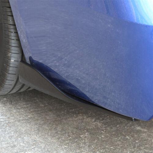2 Pcs Car Left//Right Rear Deflector Spoiler Splitter Diffuser Bumper Canard Lip