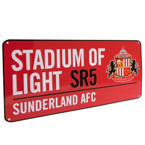 Sunderland A.F.C RD - GIFT PLAQUE Street Sign