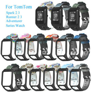 aire-Brazaletes-de-silicona-flexible-For-TomTom-Spark-Runner-3-2-Series-Watch