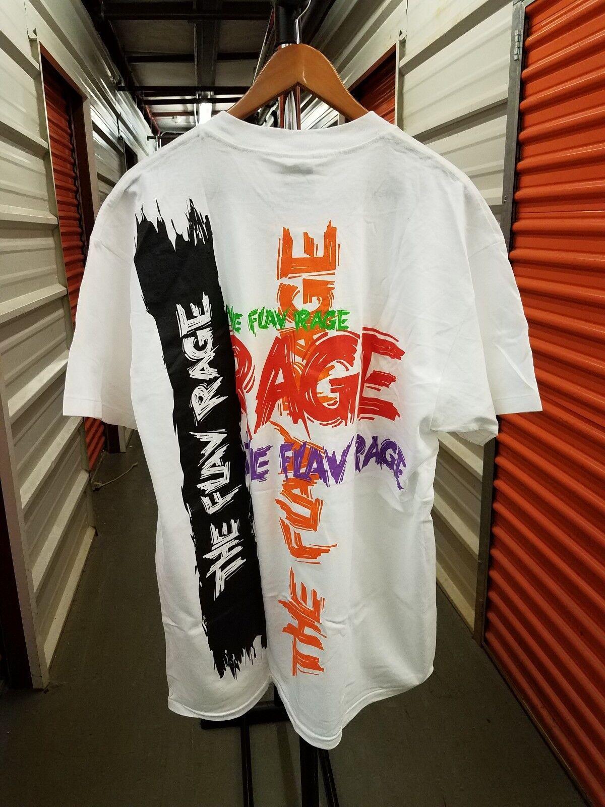NWOT Vintage Minute Maid Sodas PROMO  The Flav Rage  White Graphic Shirt XL RARE