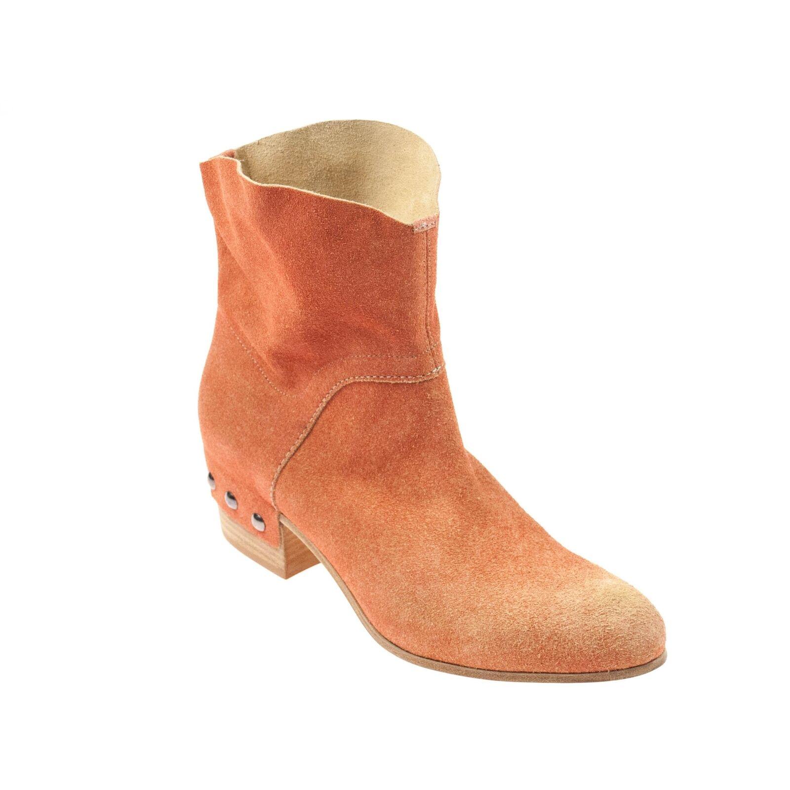 8d36dd3abfd Vic genuina señora botín de gamuza orange coral 57875c - higrotemper.es