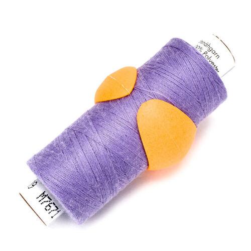 Fadenclips Peels 12 Stück pink fixieren Sie den Faden auf der Garnrolle   #16141