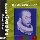 The Kassiopeia Quintet Madrigali LIBRO 2 Audio CD