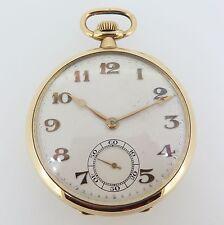 C.1926 Vintage IWC Importer 18k Gold SS Co Peerless Pocket Watch