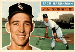1956-Topps-29-Jack-Harshman-EXMT-White-Sox-Grey-Backs-400306