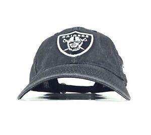 6c4e67914fb5 Oakland Raiders Charcoal Gray Baseball Cap Hat Adj. Men's Size New ...