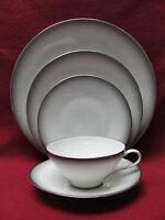 ROSENTHAL CHINA - ELEGANCE Pattern (Bettina ) - 5-piece PLACE SETTING