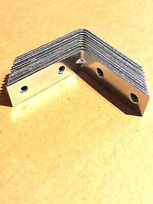 Blesiya 10x Corner Brace L Bracket Right Angle Brackets Fastener-50x50x20mm