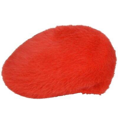 Aspirante Red Furgora Kangol Casual Basse Cap Kangol 504 Soffici Berretto Piatto-mostra Il Titolo Originale