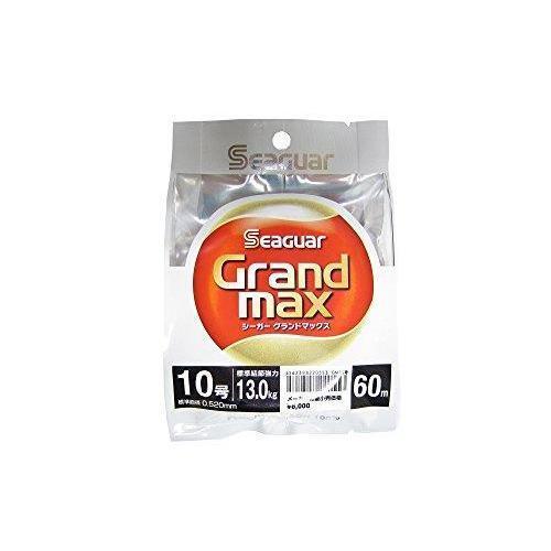 KUREHA Grand Max FluGoldcarbon Line 60m  10 13.0kg 28.7lb