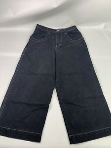 Vtg-90s-JNCO-Wide-Baggy-skater-Jeans-mens-label-34x28-A2220