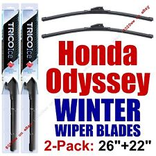 2005-2010 Honda Odyssey WINTER Wipers 2-Pk Super-Premium Beam Blades 35260/35220