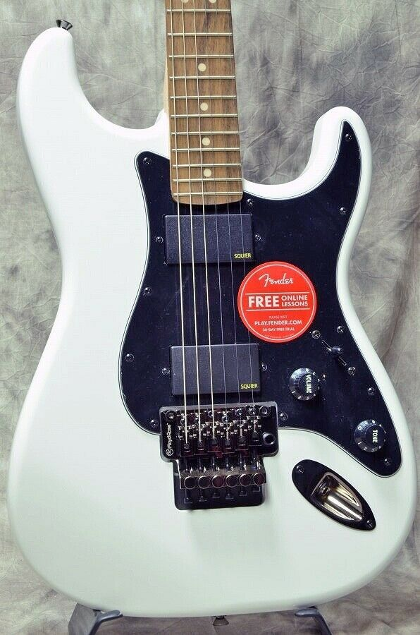 Squier by Fender Contemporary Active Stratocaster HH rare EMS F S
