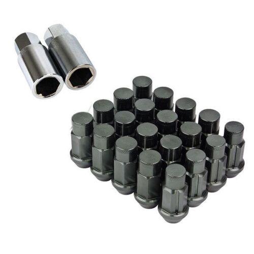 LN-T4-15-GUN-Mazda Godspeed 50mm Lug Nuts 20 pcs Set M12x1.5